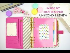 Inside My Kikki K Planner | Unboxing & Review