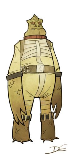 Fat Bossk.  ★ || CHARACTER DESIGN REFERENCES (www.facebook.com/CharacterDesignReferences & pinterest.com/characterdesigh) • Love Character Design? Join the Character Design Challenge (link→ www.facebook.com/groups/CharacterDesignChallenge) Share your unique vision of a theme every month, promote your art and make new friends in a community of over 25.000 artists! || ★