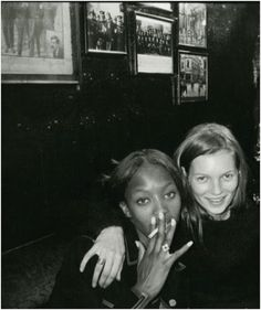 Dynamic duo Naomi and Kate #SALSITinspo #90s