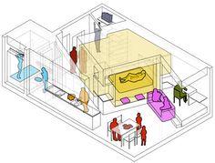 Parlament 29 por Miel arquitectos + Studio P10