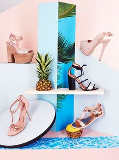 214 Magazine – Topshop © Copyright Anna Lomax 2013 Art Direction and set design for still life commissioned by Topshop's 214 Magazine. Photography – Brendan and Brendan. close