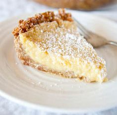 Homemade Momofuku Crack Pie. This crack pie recipe is out-of-this-world! crack pie, monday, names, food, pies, cookbooks, pie recipes, milk bar, sweet desserts