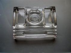 Vintage Retro 1930s Sengbusch Clear Thick by silveranniversary