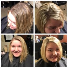 blonde highlights by Lindsey