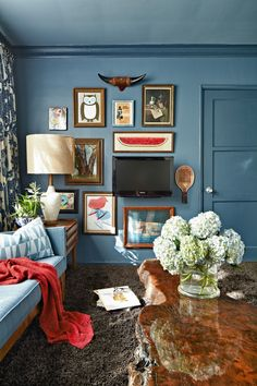 Interior image from Designers At Home by Ronda Rice Carman Photography by Daniel J. Collopy