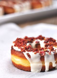 This maple cronut packs a protein punch: bacon.