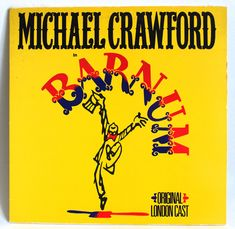 Michael Crawford in Barnum Original Vinyl Record - Vintage Musical 1981 Recording with Original London Cast by FunkyKoala on Etsy Vintage Music, Vinyl Records, Finding Yourself, It Cast, Album, London, The Originals, Etsy, Art