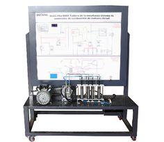 Diesel Engine Fuel Supply System Teaching Board DLQC-FDJ-R004