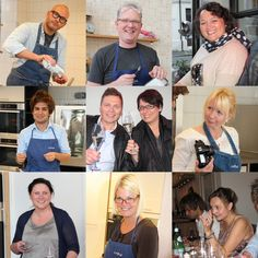 My fellow food bloggers! Photo taken by Trine Sandberg,http://trinesmatblogg.no