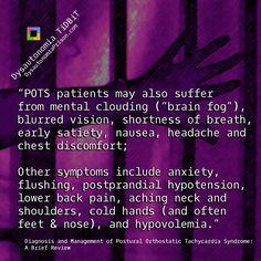 POTS Dysautonomia