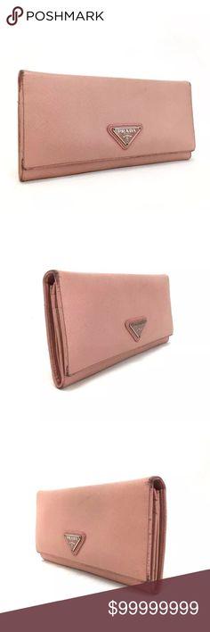Prada Alabastro Leather  Long Wallet Extra pics of Prada Wallet.   See 2nd set of pics. Prada Bags Wallets
