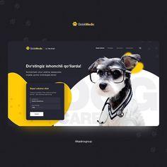 Website header design by Minimal Web Design, Web Ui Design, Web Design Company, Pet Websites, Pet Branding, Website Header Design, Best Landing Pages, Creative Web Design, Website Design Inspiration