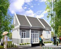 Bộ sưu tập những mẫu nhà cấp 4 đẹp rẻ tiền ở nông thôn Mansions, House Styles, Outdoor Decor, Home Decor, Houses, Decoration Home, Manor Houses, Room Decor, Villas
