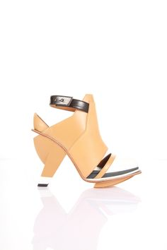 Peek Tan Heels | Abcense | NOT JUST A LABEL