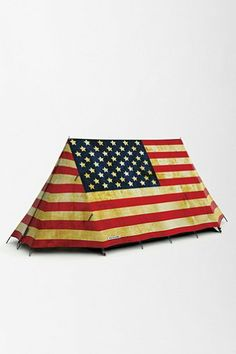 Patriotic tent!