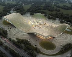 Exhibition Center of Otog | Kuan Wang