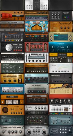 boscomac - instruments & fx Reaktor | TRULY ONE OF THE GREATEST REAKTOR ENSEMBLE CREATORS WHO EVER LIVED
