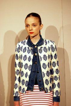How to style a denim jacket www.204park.com