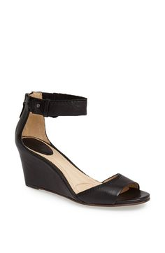 'Carol' Back Zip Ankle Strap Wedge Sandal http://picvpic.com/women-shoes-sandals/carol-back-zip-ankle-strap-wedge-sandal#black