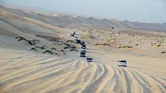 """If I look back I'm lost.""  Enroute to Sealine Beach Resort, Doha, Qatar"