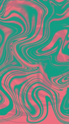 Abstract turquoise-pink