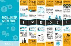 Quais sites de mídia social deve meu negócio estar?  [Infográfico] via Google+ @SANDERSEO @SANDERMIDIASOCIAL