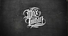Handlettered Logotypes II by Mateusz Witczak, via Behance