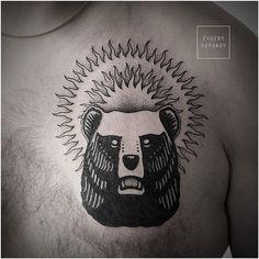 bear art tattoo - Поиск в Google