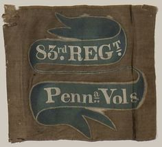 Camp color of the 83rd Pennsylvania