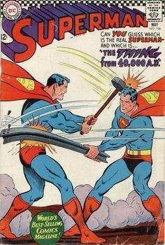Superman #196 DC Comics