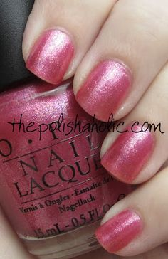 {OPI- And This Little Piggy.} Got this color for a pedicure, and I love iiiit. Opi Nail Polish, Opi Nails, Manicures, Nails News, Opi Pink, Polish Names, Opi Colors, This Little Piggy, Pretty Nails