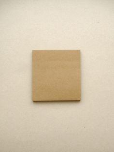 Kraft Paper / Sticky notes