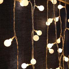 Lights & Lighting Methodical Red/black Cotton Balls Led String Fairy Christmas Holiday Lights Garlands Guirlande Lumineuse Party Gift Wedding Room Decoration