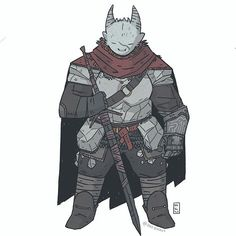 oh dang kinda scary. a dragon swordsman commission  -  -  i want a cape  -  #dnd #illustration #fantasy #characterdesign #roleplay #tabletop #drawingoftheday #costumedesign #art #digitalart #conceptart #comics