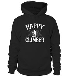 Climbing-happy climber shirt