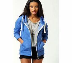 boohoo Ciara Marl Brushback Zip Through Hoody - blue A staple sweat, look to this hoodie as your ultimate loungewear item for kicking back in style. We love to layer it over anything and everything from leggings to a basic tee and denim shorts . Work an http://www.comparestoreprices.co.uk/womens-clothes/boohoo-ciara-marl-brushback-zip-through-hoody--blue.asp