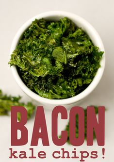 Bacon Kale Chips