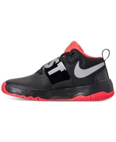 f763460c2aec3 Nike Boys  Team Hustle D8 Just Do It Basketball Sneakers from Finish Line