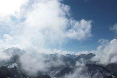 Die Raumfee: In heaven No. 242 - Bergschneehimmel am Neunerköpfle