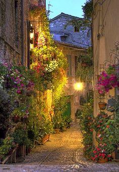 Calle Spello - Umbria - Italia | Flickr - Photo Sharing!