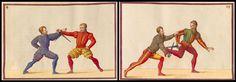 """Interessante e dimenticato - la vita e curiosità di epoche passate. - Battaglia tornei e battaglie da 1500 """"De Arte Athletica 'i libri."""