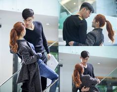 They just can't keep their hands off each other! Aren't you loving Hyun Bin & Han Ji Min in  'Hyde Jekyll, Me'? Korean Men, Korean Actors, Korean Dramas, Hyde Jekyll Me, Han Ji Min, Korean Drama Romance, Drama News, Literary Characters, Drama Fever