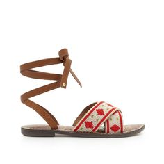 803bf0273d9 Our Luisa Beaded Ankle Wrap Sandal is a no-brainer for summertime (or  tropical