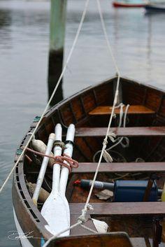 Westport Harbor | rowing boat