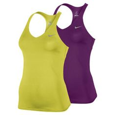 The Nike Women's Advantage Solid Tennis Tank has    tons of on court style. The Dri-FIT fabric and jersey body help you   play your best by adding comfort and moisture control to your top.   #nike #tennis #tanktops