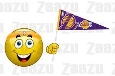 Fanoušek Los Angeles Lakers