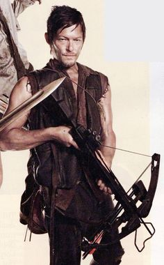 Daryl Dixon, The Walking Dead I love this guy! Imma marry him....