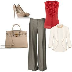 Spring colors work outfit www.cynthiawhiteandassociates.com #personalbrand #workattire