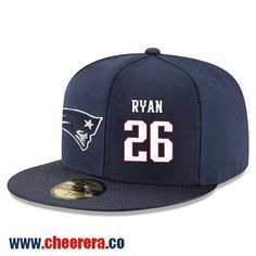 New England Patriots  26 Logan Ryan Snapback Cap NFL Player Navy Blue with  White Number 320576dac6