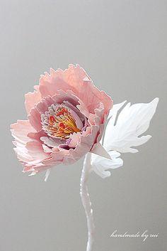 Paper Flower by handmadebyrui on Etsy